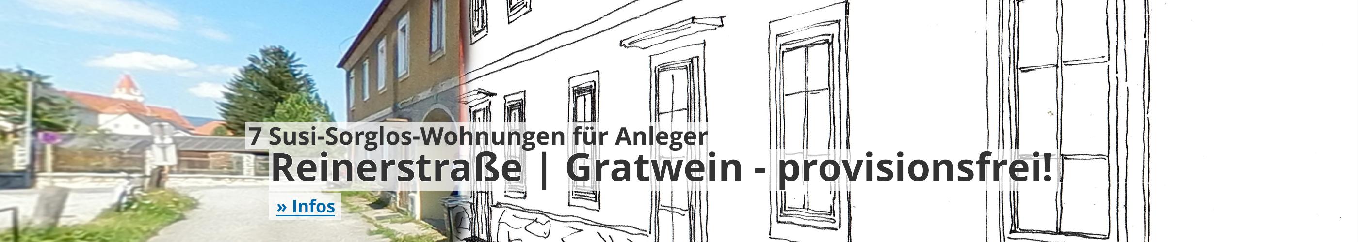 7 Susi-Sorglos-Wohnungen | Gratwein