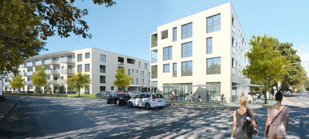 Ankerstraße: Bauherrenmodell mit Wohnungszuordnung