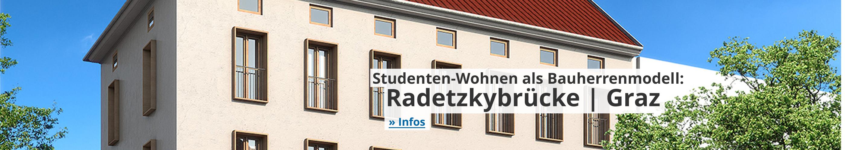 Studenten-Wohnen Radetzkybrücke