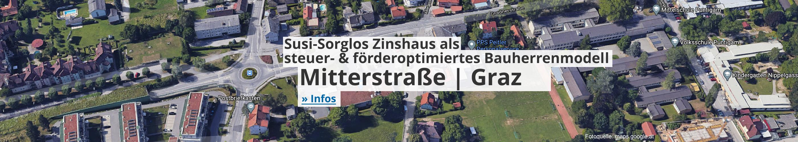 Susi-Sorglos Zinshaus als steuer- & förderoptimiertes Bauherrenmodell